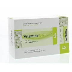 Spruyt Hillen Vitamine B12 1000 mcg (500 tabletten)