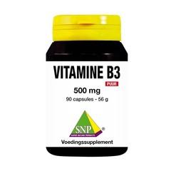 SNP Vitamine B3 500 mg puur (90 capsules)