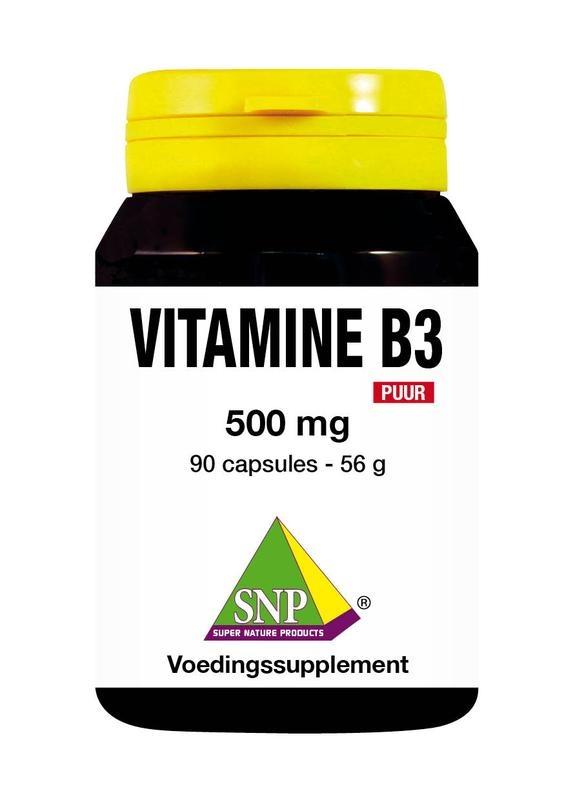 SNP SNP Vitamine B3 500 mg puur (90 capsules)