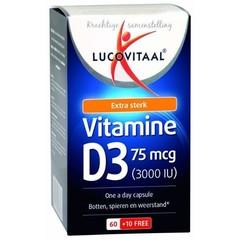 Lucovitaal Vitamine D3 75 mcg (70 capsules)