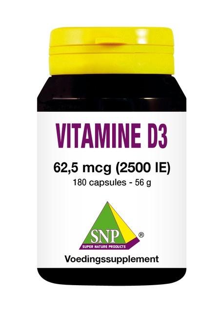SNP SNP Vitamine D3 2500IE (180 capsules)