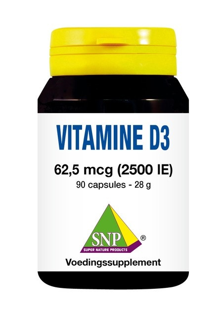 SNP SNP Vitamine D3 2500IE (90 capsules)