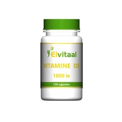 Elvitaal Vitamine D3 1000IE 25 mcg (120 capsules)