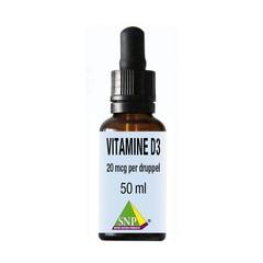 SNP Vitamine D3 20 mcg druppels (50 ml)