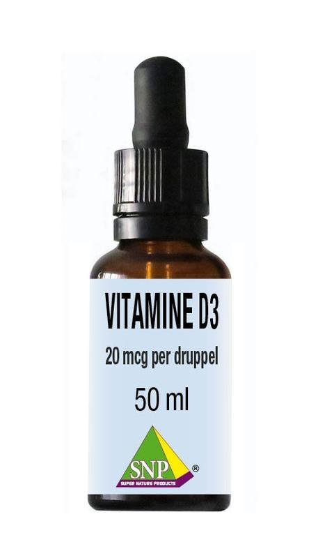 SNP SNP Vitamine D3 20 mcg druppels (50 ml)