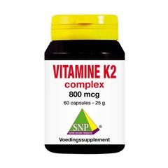 SNP Vitamine K2 complex 800 mcg (60 capsules)