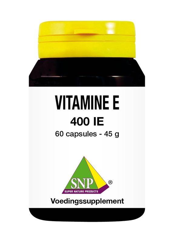 SNP SNP Vitamine E 400 IE (60 capsules)