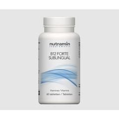 Nutramin NTM B12 forte sublingual (60 tabletten)