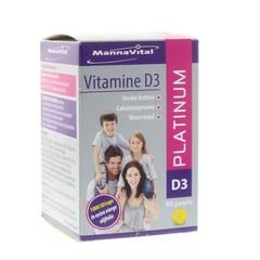 Mannavital Vitamine D3 platinum (90 capsules)