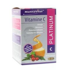 Mannavital Vitamine C platinum (60 tabletten)