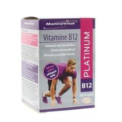 Mannavital Vitamine B12 platinum (60 tabletten)