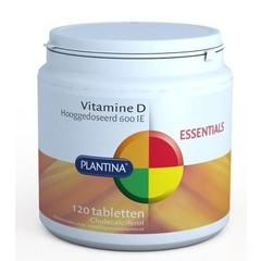 Plantina Vitamine D 600IE (120 tabletten)