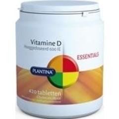 Plantina Vitamine D 600IE (420 tabletten)