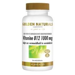 Golden Naturals Vitamine B12 1000 mcg smelttablet (240 tabletten)