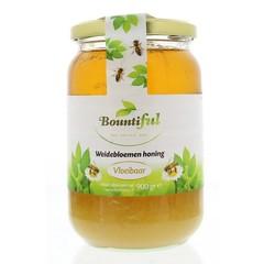 Bountiful Weidebloemen honing vloeibaar (900 gram)