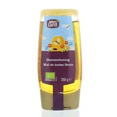 Ekoland Bloemenhoning knijpfles (350 gram)