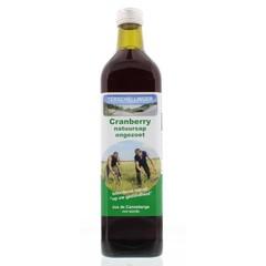 Terschellinger Cranberrysap puur ongezoet (750 ml)