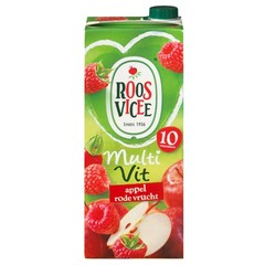 Roosvicee Multi vit appel/rode vruchten (1500 ml)
