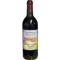 Grootmoeders Vruchtenwijn rode druiven (700 ml)