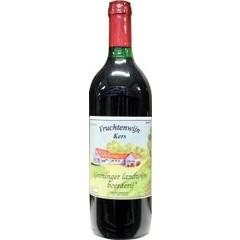 Grootmoeders Vruchtenwijn kersen zoet (700 ml)