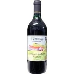 Grootmoeders Vruchtenwijn zwarte bessen (700 ml)