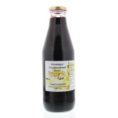 Groninger Blauwe bosbessensap (750 ml)