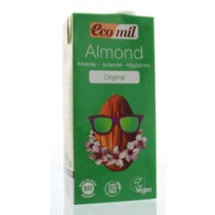 Ecomil Amandeldrank tetrapak (1 liter)