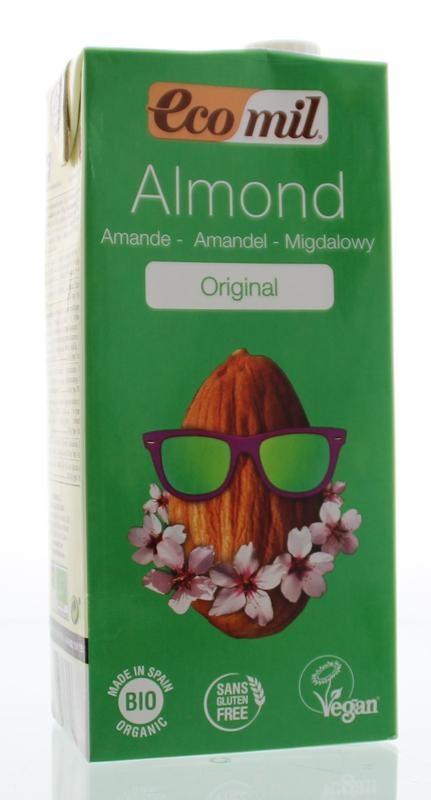 Ecomil Ecomil Amandeldrank tetrapak (1 liter)