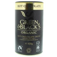 Green & Black Hot chocolate (300 gram)