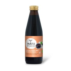 Natufood Zwarte bes oersap vitaal (330 ml)