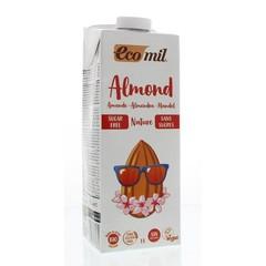 Ecomil Amandeldrank naturel suiker vrij (1 liter)