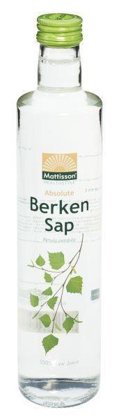 Mattisson Mattisson Absolute berkensap 100% puur sap bio raw (500 ml)