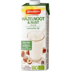 Zonnatura Rijst hazelnoot drink (1 liter)
