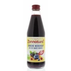 Zonnatura Donkere bessensap bio (330 ml)