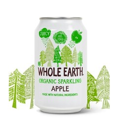 Whole Earth Sparkling apple drink (330 ml)