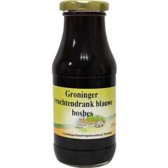 Groninger Blauwe bosbessensap (250 ml)