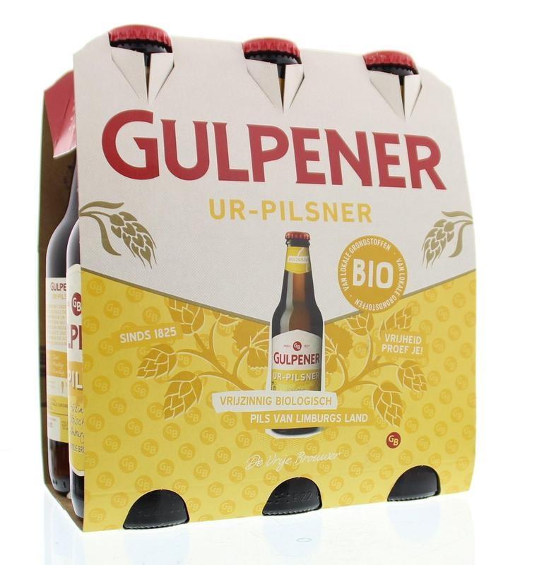 Gulpener Gulpener pilsner bio 300 ml (6 stuks)