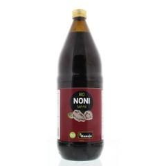 Hanoju Noni sap bio 100% puur Fiji (1 liter)