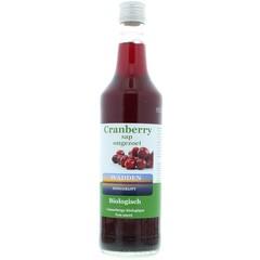 Wadden Cranberrysap ongezoet (675 ml)