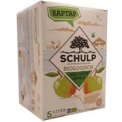 Schulp Appelsap bio saptap (5 liter)