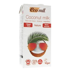 Ecomil Kokosmelk naturel (1 liter)