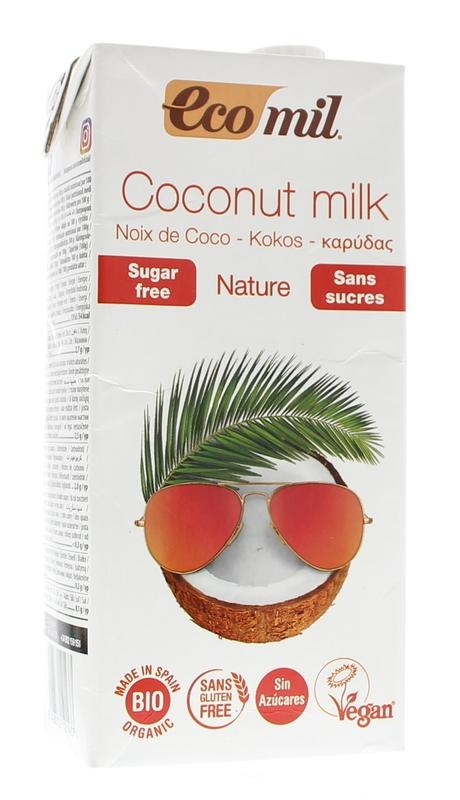 Ecomil Ecomil Kokosmelk naturel (1 liter)
