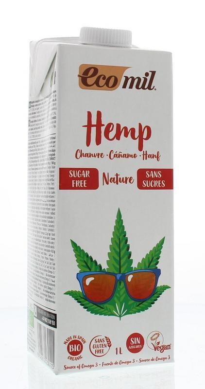 Ecomil Ecomil Hennepdrank naturel (1 liter)