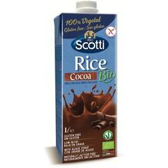 Riso Scotti Rice drink cocoa (1 liter)