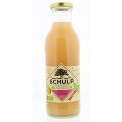 Schulp Appel & rabarbersap bio (750 ml)
