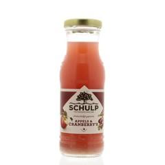 Schulp Appel & cranberry sap (200 ml)
