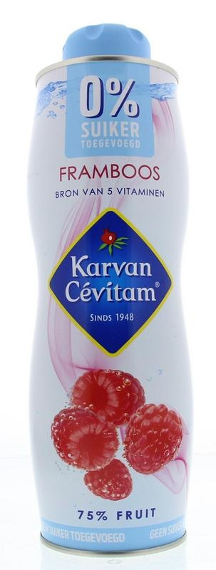 Karvan Cevitam Karvan Cevitam Framboos 0% suiker (750 ml)
