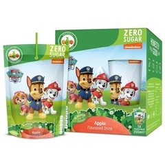 Appy Kids drink Paw patrol apple 200 ml (5 stuks)