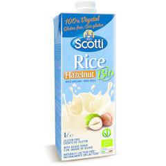 Riso Scotti Rice drink hazelnut (1 liter)