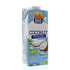 Isola Bio Kokosdrink met calcium suikervrij (1 liter)